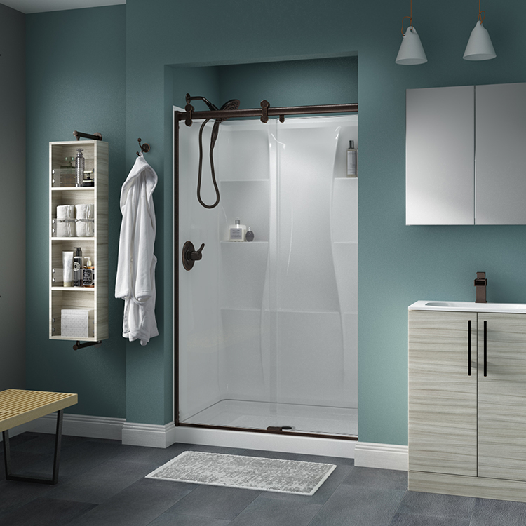 Puertas para ducha corredizas
