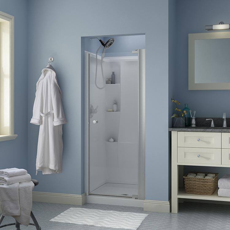 Puertas pivotantes para ducha