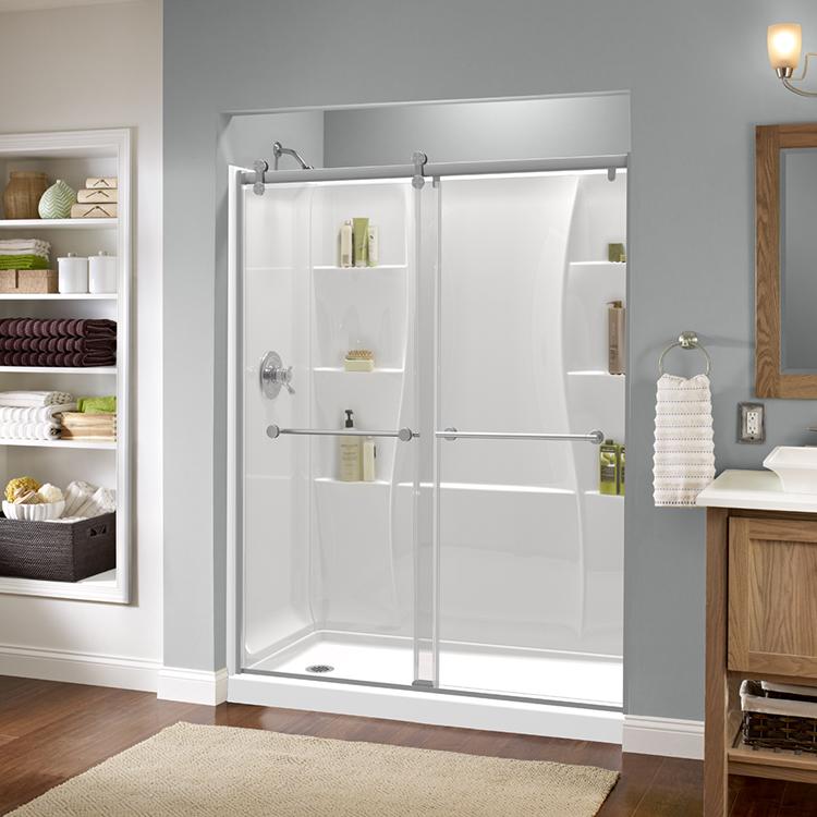 Puertas para ducha sin marco